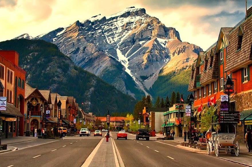 Town of Banff - Alberta, Canada - Q-Free