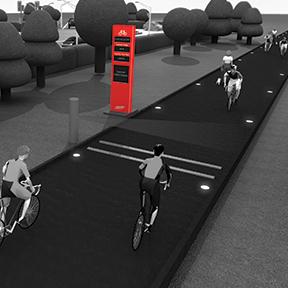 HI-TRAC Cycle Active Display