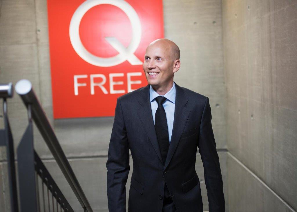 Q-Free CEO Håkon Volldal